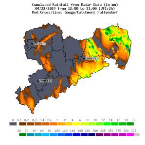 Figure 1: Rainfall radar.