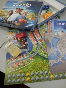 Inundo board game.