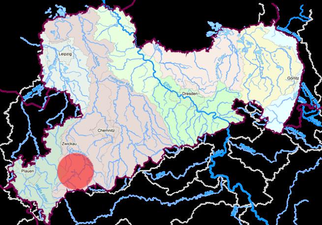 Lage Starkregen-/Hagelereignis 29.05.2016 in Sachsen.